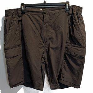 Coleman Nylon Gray Walking Shorts